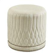 Linen Paris Flea Ottoman Product Image