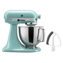 Artisan® Series 5 Quart Tilt-Head Stand Mixer with Flex Edge Beater - Aqua Sky