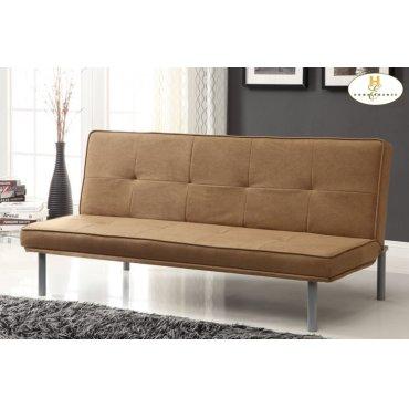 Elegant Lounger Sofa: 66 x 31 x 31H Bed: 66 x 39.5 x 13.5H