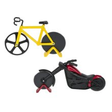Bicycle & Motorcycle Pizza Cutters (6 pc. ppk.)