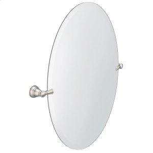 Banbury brushed nickel mirror Product Image