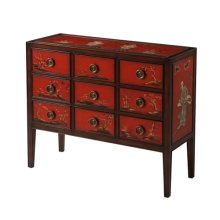 A Tale of Scarlet Chest of Drawers