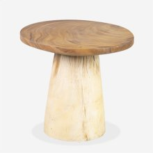 Numa Teak Side Table - Natural