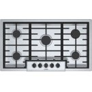 500 Series Gas Cooktop 36'' Stainless steel NGM5656UC Product Image
