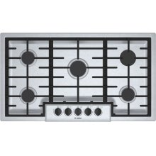500 Series Gas Cooktop 36'' Stainless steel NGM5656UC