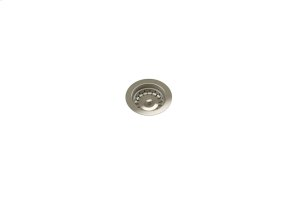 """Drain 100122 - Stainless steel sink accessory , Satin Nickel, 3 1/2"""" Product Image"""
