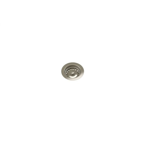 Drain 100122 - Stainless steel sink accessory , Satin Nickel, 3 1/2""