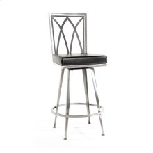 Luca Swivel Stool, Gothic