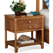 Summer Retreat Two Drawer Nightstand