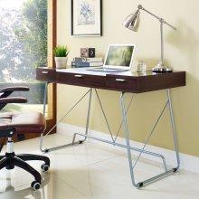 Panel Office Desk in Cherry