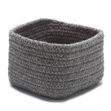 "Natural Shelf Storage Basket AT32 Dark Gray 11"" X 8"""