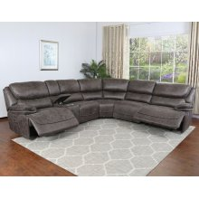 "Plaza Sectional RA Pwr Recliner 40.9""x40.5""x41.7"""