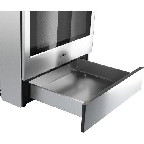800 Series Dual Fuel Slide-in Range 30'' Stainless steel
