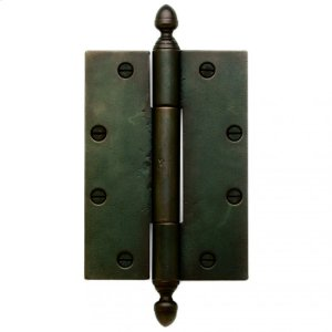 """Butt Hinge - 7"""" x 5"""" Silicon Bronze Brushed Product Image"""
