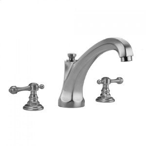 Antique Brass - Westfield Roman Tub Set with High Spout and Majesty Lever Handles Product Image