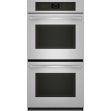 "Double Wall Oven, 27"", Euro-Style Stainless Handle"