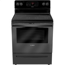 "Floor Model Sale - 30"" Electric Freestanding Range 300 Series - Black"