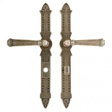 """Briggs Multi-Point Entry Set - 2"""" x 15"""" Silicon Bronze Brushed"""