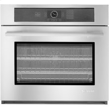"Single Wall Oven with MultiMode® Convection, 30"", Euro-Style Stainless Handle"