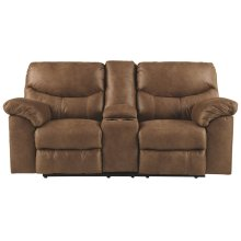 3380296 Boxberg DBL REC PWR Loveseat w/Console