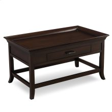 Traditional Cherry Tray Edge Coffee Table #10128