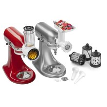 Slicer/Shredder + Grinder/Sausage Stuffer Attachment Pack - Other