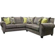 6T00N-SECT Larado Sectional with Nails