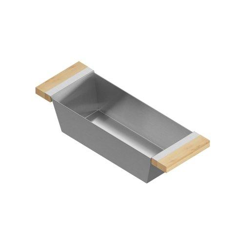 Bin 205327 - Stainless steel sink accessory , Maple