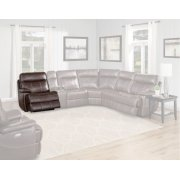 DYLAN - MAHOGANY Power Left Arm Facing Recliner Product Image