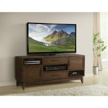 Vogue - 66-inch TV Console - Plymouth Brown Oak Finish