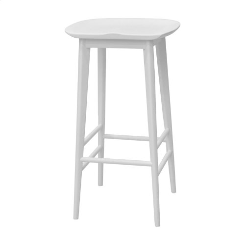 "Hilton Counter Stool Natural 17""x14""x24"""