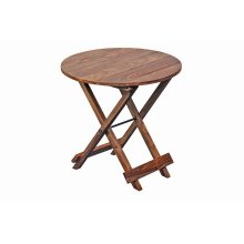 Sheesham Accents Round Table, ART-271