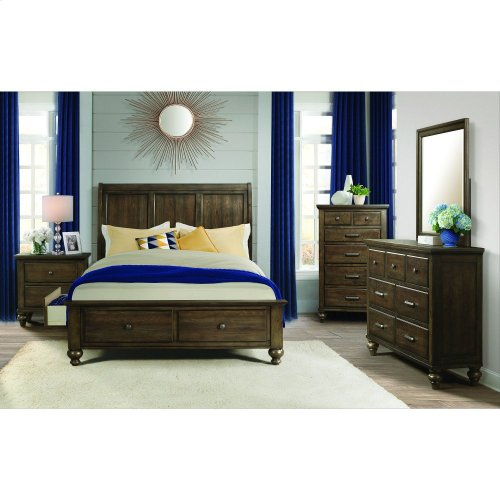 Chatham Grey Storage Bedroom