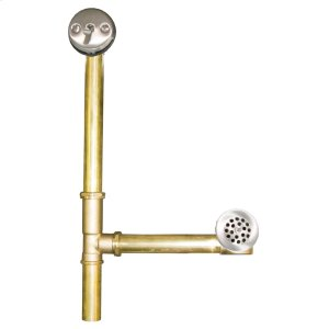 DR300 Trip Lever Bath Waste & Overflow for Aspen in Brushed Nickel Drain Product Image