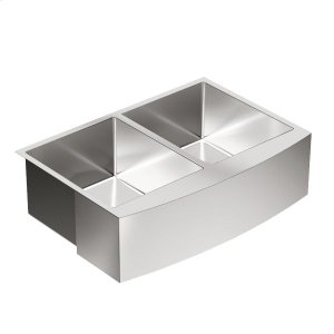 1800 Series 29-15/16x20-5/8 stainless steel 18 gauge double bowl sink Product Image