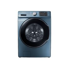 4.5 cu. ft. Front Load Washer in Azure Blue