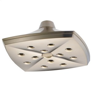 H 2 Okinetic® Square Raincan Showerhead Product Image