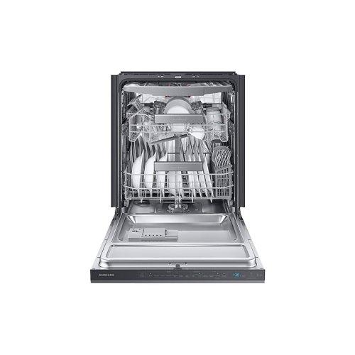 Linear Wash 39 dBA Dishwasher in Black Stainless Steel