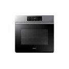 """30"""" Steam-Assisted Single Wall Oven, Silver Stainless Steel Product Image"""