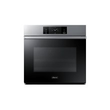 """30"""" Steam-Assisted Single Wall Oven, Silver Stainless Steel"""