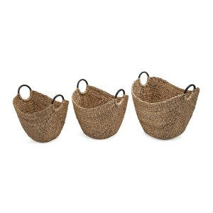 Isa Baskets with Handles - Set of 3