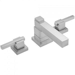 Antique Brass - CUBIX® Faucet Double Stack with CUBIX® Lever Handles Product Image