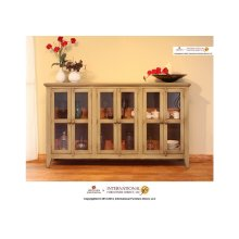 Olive Console w/6 Doors