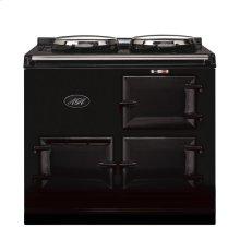 Black 2-Oven AGA Cooker (gas) Cast-iron range cooker