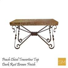 * Travertine Console Table 1212 F