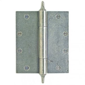 """Butt Hinge - 7"""" x 6"""" Silicon Bronze Brushed Product Image"""