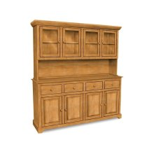 4 Door Hutch (shown w/B-4 which is sold separately)