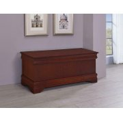 Louis Philippe Traditional Warm Brown Chest Product Image