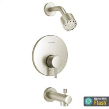 Serin Bathtub and Shower Trim with Pressure Balance Cartridge  American Standard - Brushed Nickel
