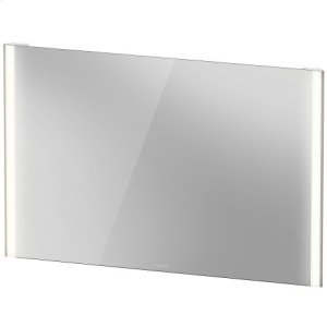 Mirror With Lighting, Champagne Matte Product Image